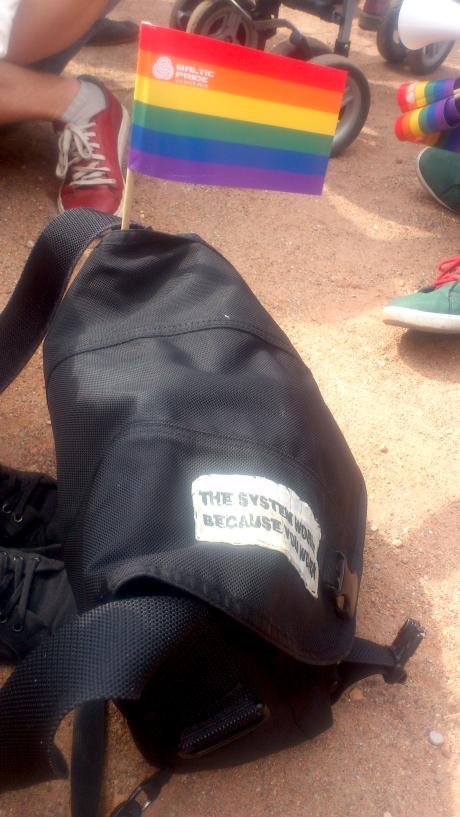 rainbow vilnius bag